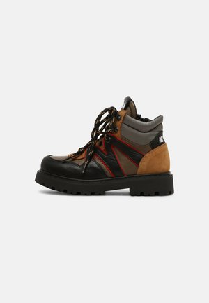 UNISEX - Lace-up ankle boots - ochre