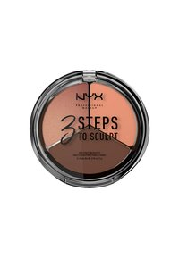 Nyx Professional Makeup - 3 STEPS TO SCULPT - Contouring - 4 deep - 1