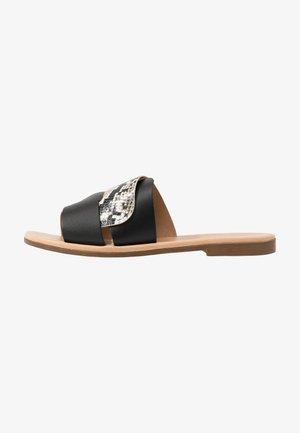 DARYL - Pantofle - black
