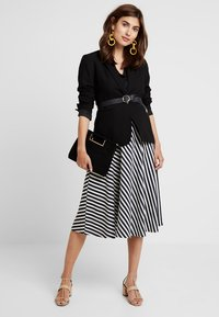 edc by Esprit - MIDI SKIRT - A-line skirt - navy - 1