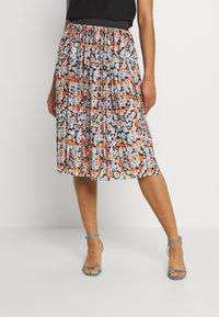 JDY - JDYBOA SKIRT - A-line skirt - black/light blue - 2