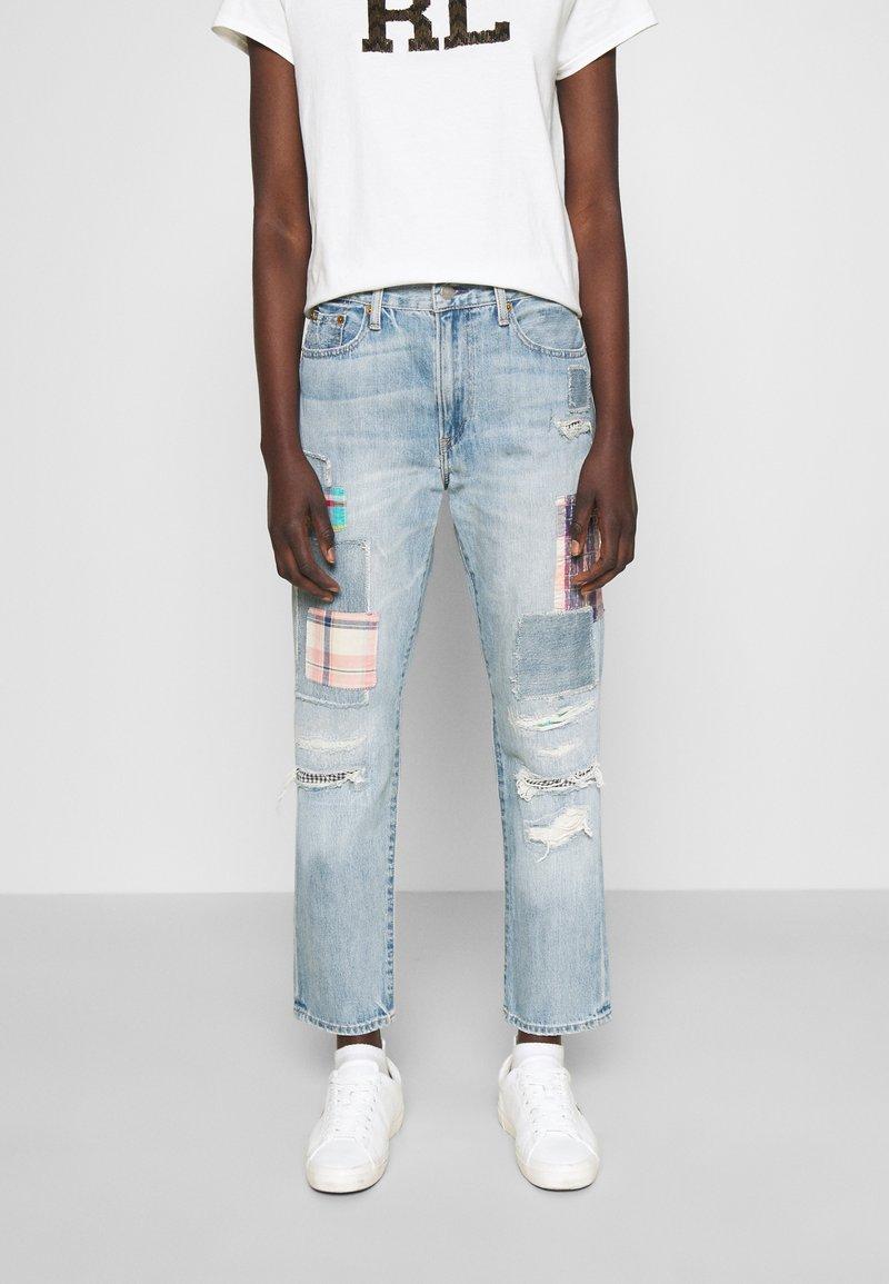 Polo Ralph Lauren - KASIA WASH - Jeans baggy - light indigo