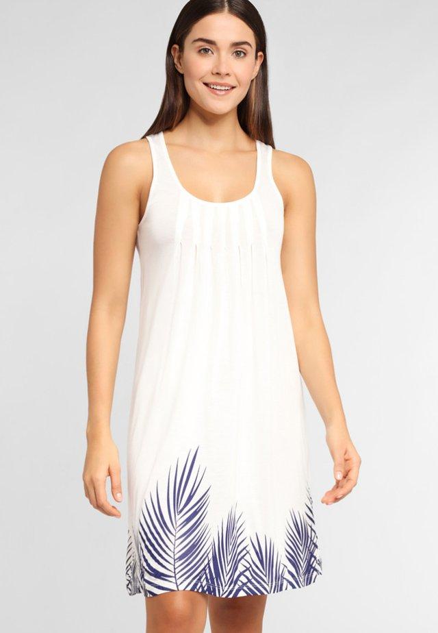 Day dress - white/navy