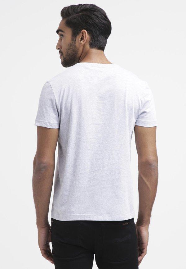 Lacoste T-shirt basic - paladium chine/szary melanż Odzież Męska QSQS