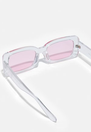 ONSSUNGLASS 2 PACK UNISEX - Sunglasses - black/black /pink/transparent