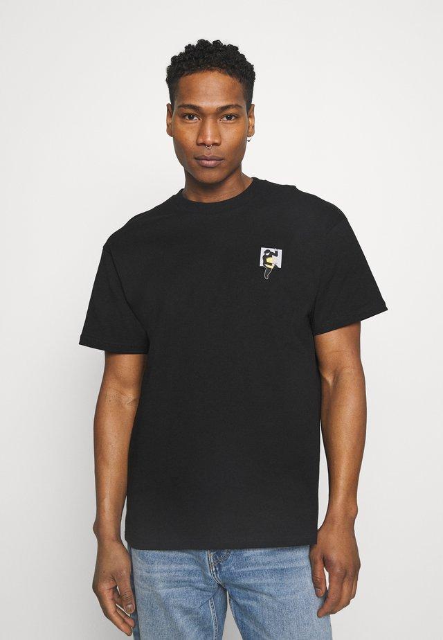 TEEF  - T-shirt print - black