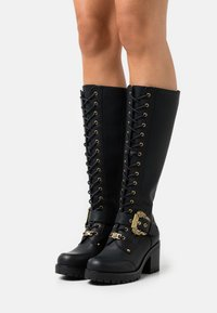 Versace Jeans Couture - Lace-up boots - nero - 0
