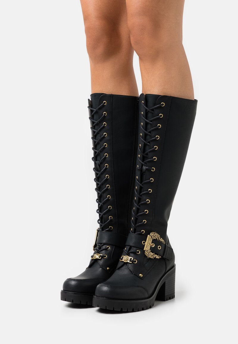 Versace Jeans Couture - Lace-up boots - nero