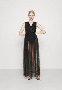 Lace & Beads - LILLIAN MAXI - Robe de cocktail - black - 0