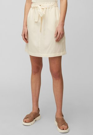A-line skirt - chalky raw