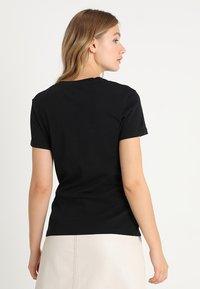 Calvin Klein Jeans - CORE MONOGRAM LOGO - Print T-shirt - black - 2