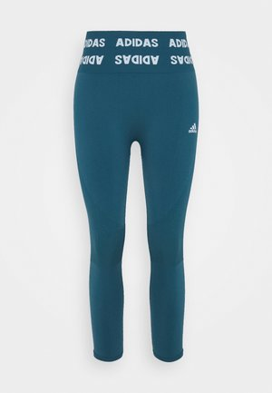 AEROKNIT 7/8 PS TRAINING WORKOUT DESIGNED4TRAINING PRIMEGREEN LEGGINGS FITTED - Tights - wild teal