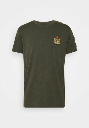 FELIX - Print T-shirt - khaki