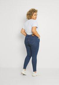 Levi's® Plus - 720 PL HIRISE SUPER SKNY - Jeans Skinny Fit - echo stonewash plus - 2