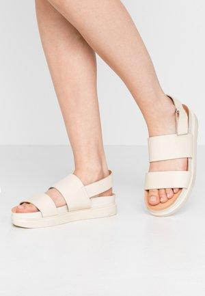 ERIN - Sandaalit nilkkaremmillä - offwhite