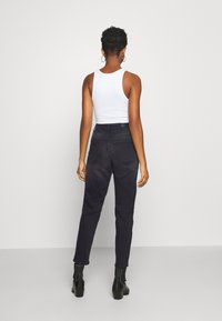 ONLY - ONLVENEDA LIFE MOM - Straight leg jeans - black denim - 2
