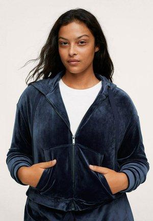 Zip-up sweatshirt - dunkles marineblau