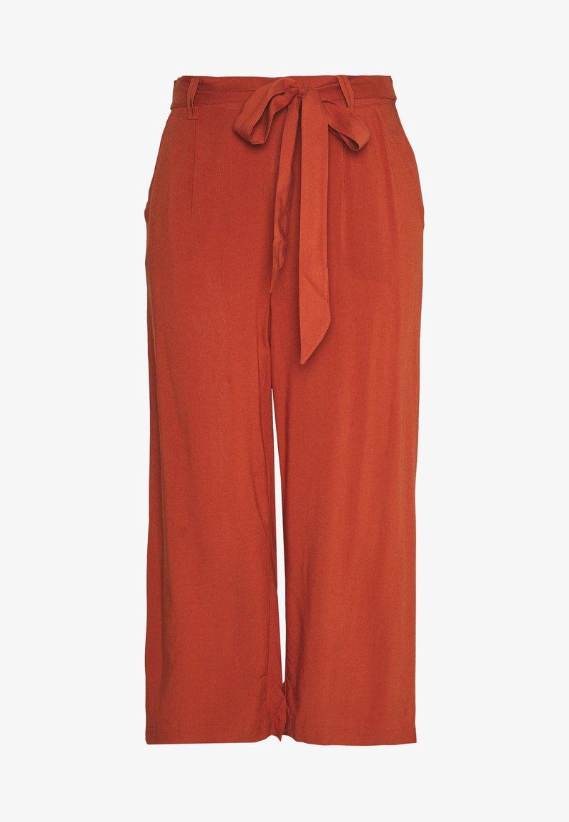 ONLY - ONLNOVA LIFE CROP PALAZZO PANT - Spodnie materiałowe - arabian spice