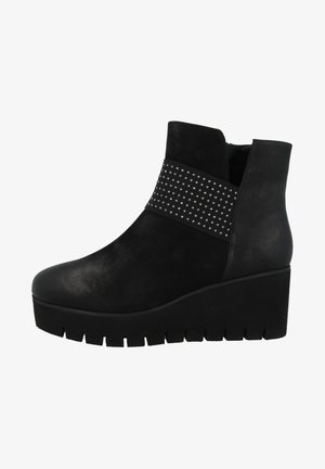 VOLLINI - Wedge Ankle Boots - black