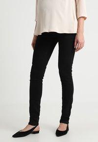 MAMALICIOUS - MLLOLA - Slim fit jeans - black denim - 0