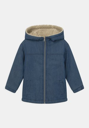 COOPER HOODED - Jas - blue denim
