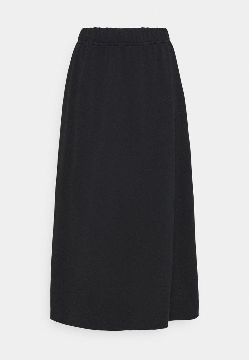 Nike Sportswear - A-line skirt - black/white
