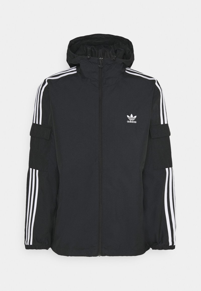 adidas Originals - THREE STRIPES UNISEX - Chaqueta fina - black