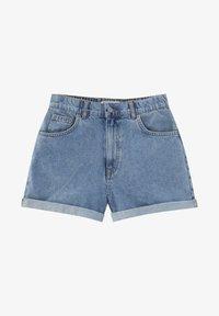 PULL&BEAR - Short en jean - light blue - 9