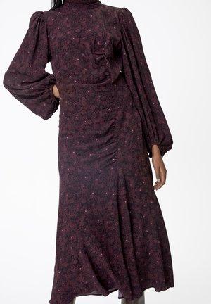 ISAGZ  - Day dress - decadent chocolate flower
