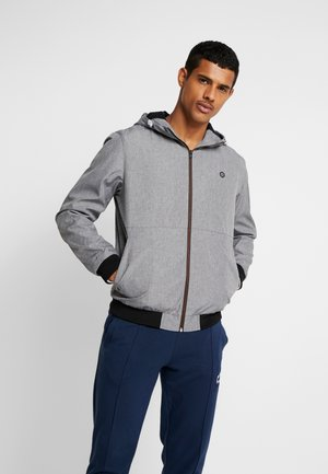 JCOALU VIBES JACKET NOOS - Lehká bunda - light grey melange