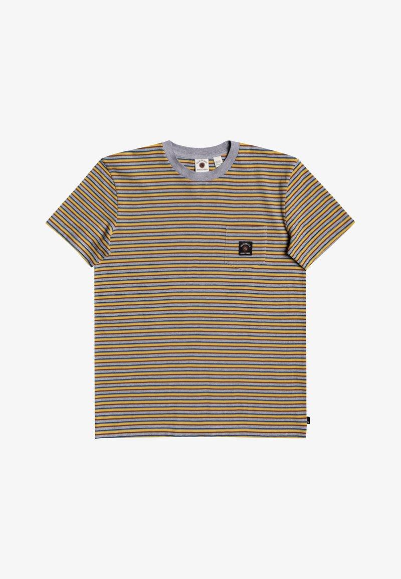Quiksilver - NEW BEAT - Print T-shirt - rattan new beat