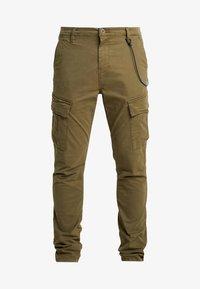 Dstrezzed - COMBAT PANTS  - Pantaloni cargo - army green - 4