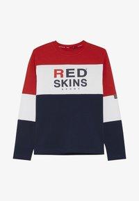 Redskins - EWAN - Long sleeved top - red/navy - 2