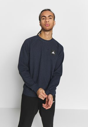 MUST HAVE ATHLETICS LONG SLEEVE PULLOVER - Sweatshirts - dark blue
