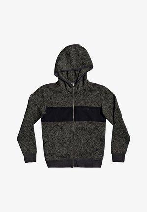 KELLER  - Zip-up hoodie - dark grey heather