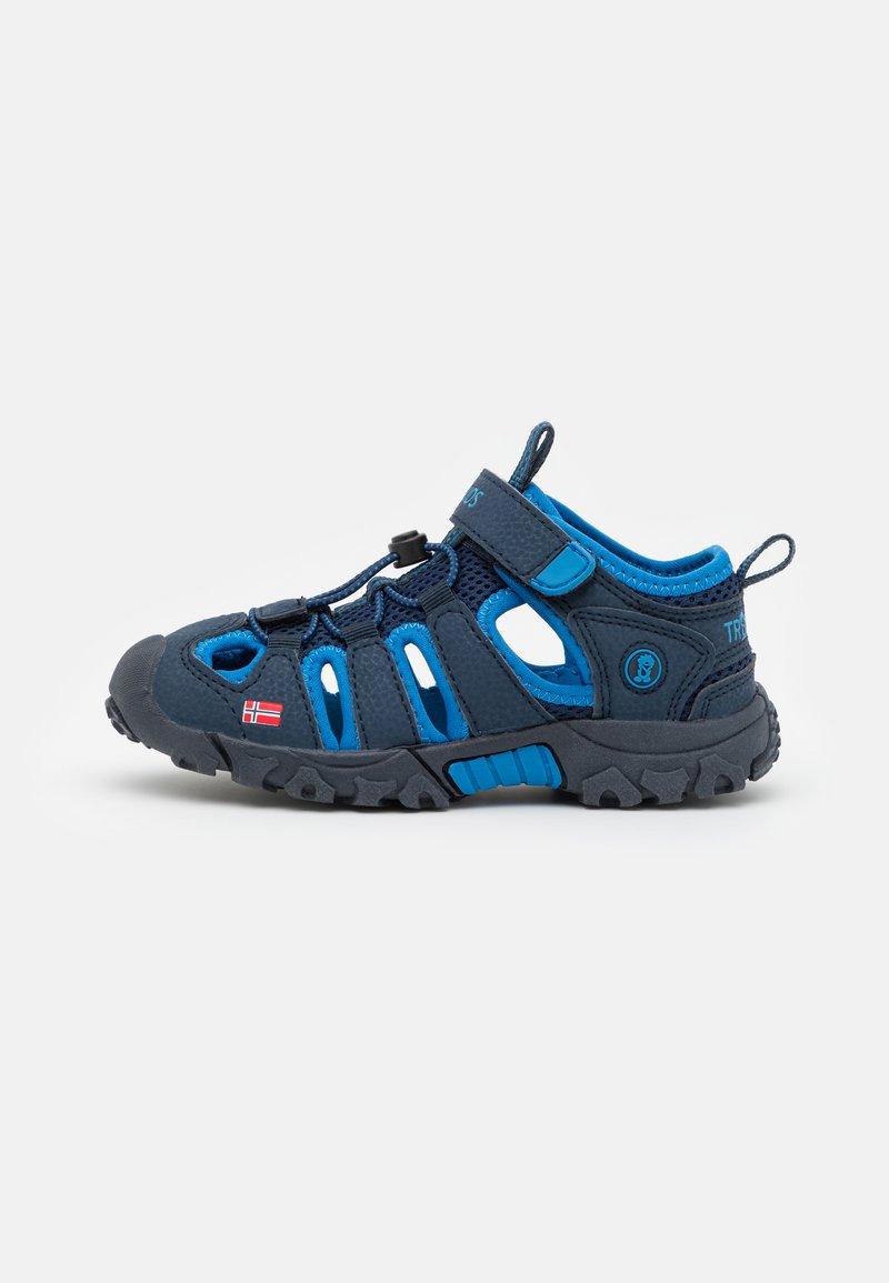 TrollKids - KIDS KRISTIANSAND UNISEX - Walking sandals - navy/medium blue