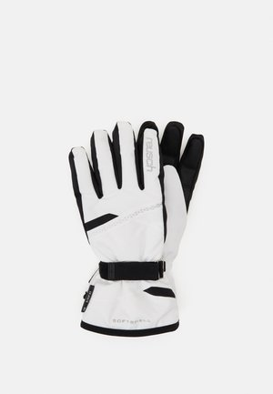 HANNAH  - Fingerhandschuh - white/black