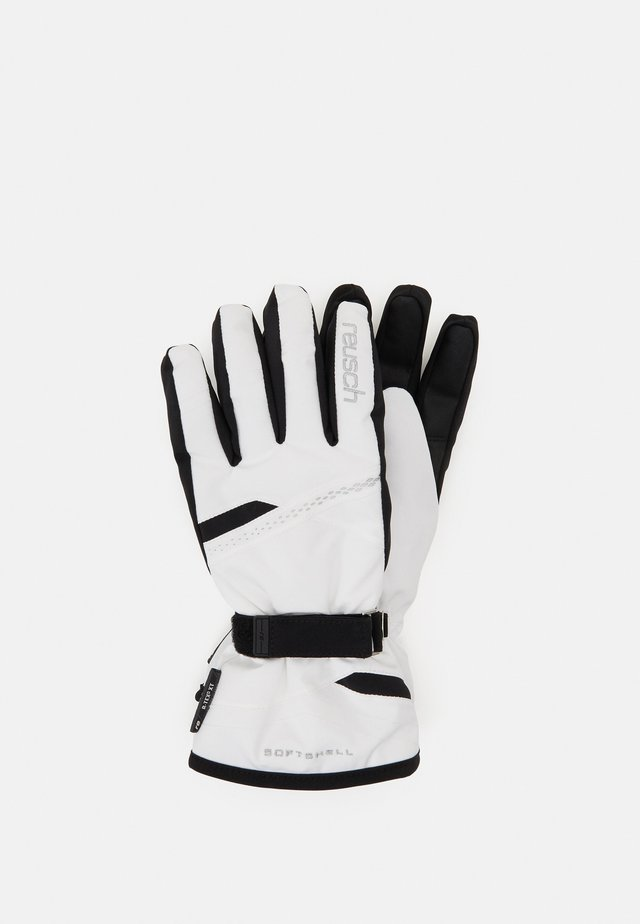 HANNAH R-TEX® XT - Sormikkaat - white/black