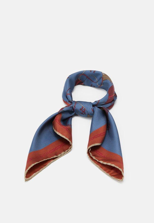 Šátek - indigo blue