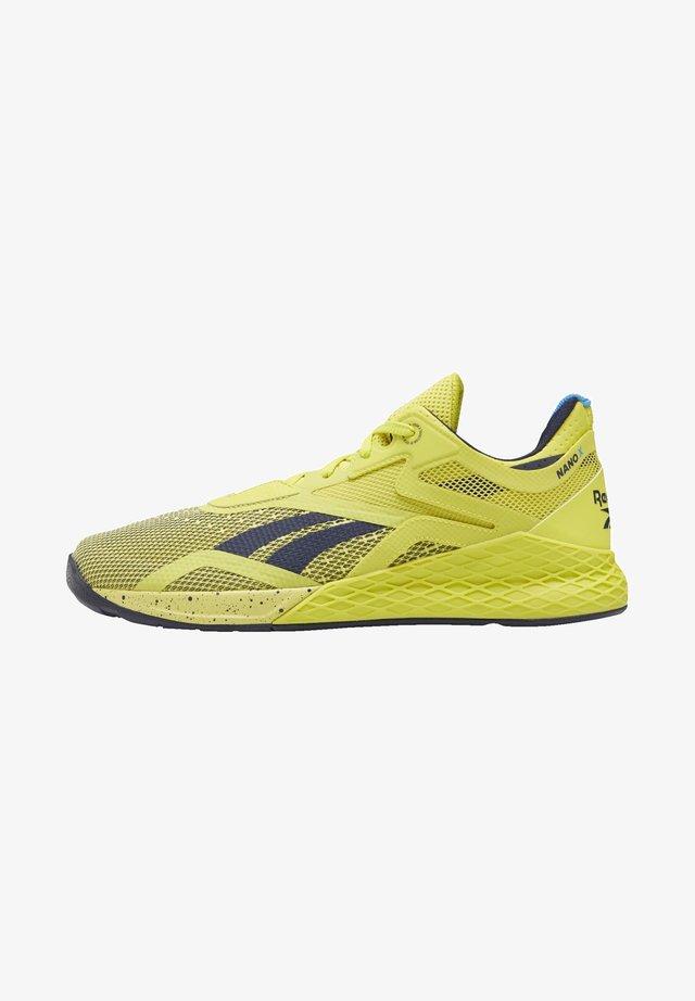 REEBOK NANO X SHOES - Obuwie do biegania Stabilność - green