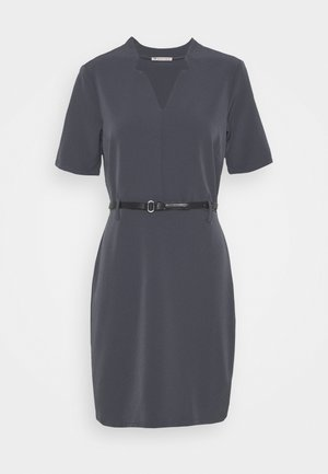 Shift dress - dark grey