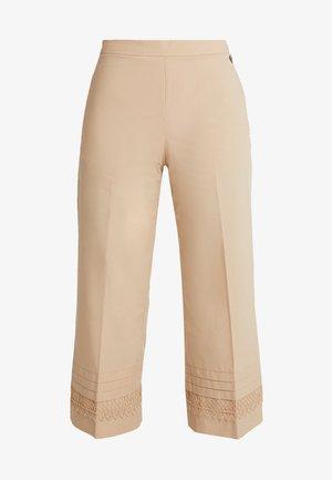 Kalhoty - nougat
