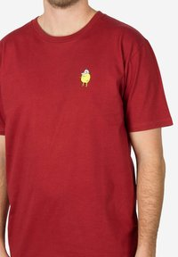 Cleptomanicx - Basic T-shirt - red - 2