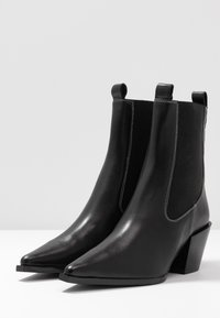 Topshop - MYSTERY WESTERN BOOT - Santiags - black - 4