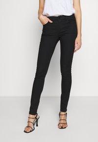 Emporio Armani - 5 POCKETS PANT - Jeans Skinny Fit - black - 0