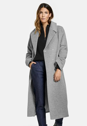KASCHMIR - Classic coat - kiesel