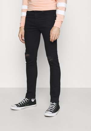 RIPPED - Jeans Skinny Fit - black