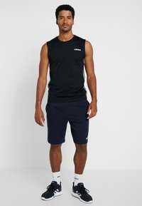adidas Performance - Träningsshorts - legend ink - 1
