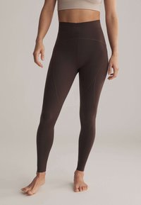 OYSHO - Leggings - brown - 0