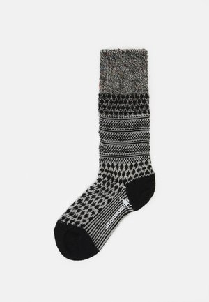 POPCORN CABLE - Sports socks - black/multi
